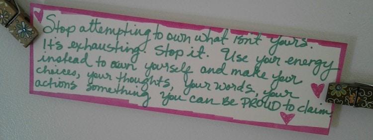 self care manifesto
