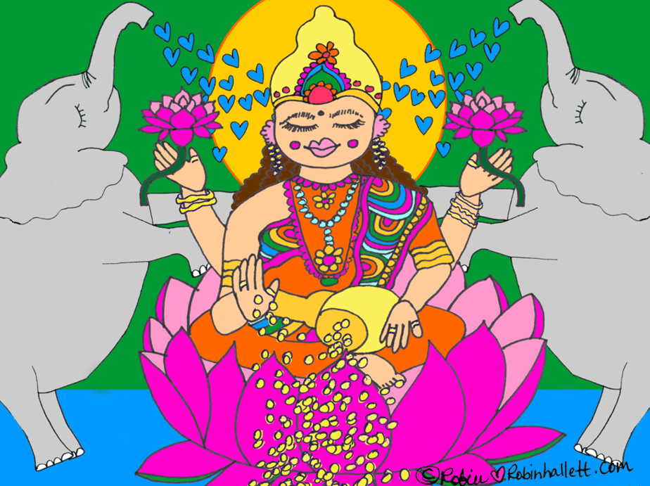Lakshmi by robin hallett