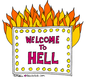 when you find yourself in hell, here's how to get back out