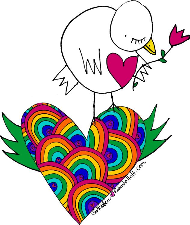 Rainbow-Birdie