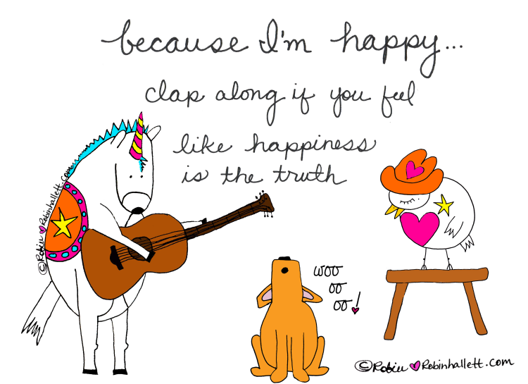 Because-I'm-Happy-by-Robin-Hallett