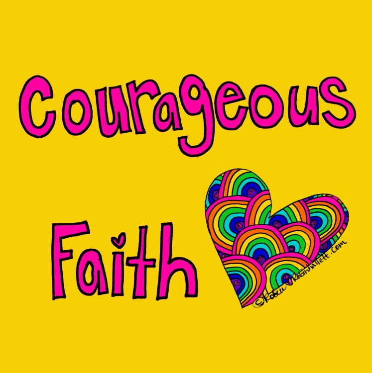 courageous faith by robin hallett