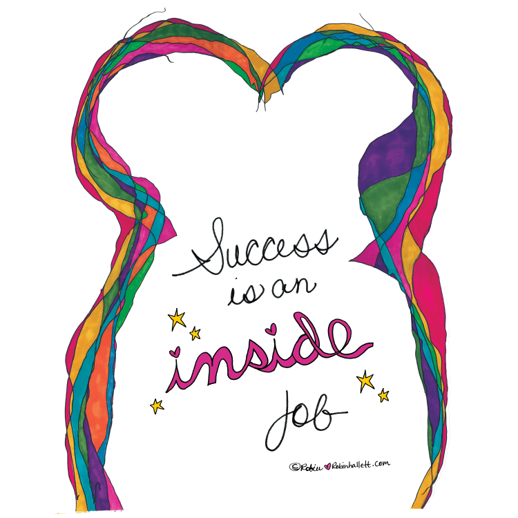success is an inside job by robin hallett