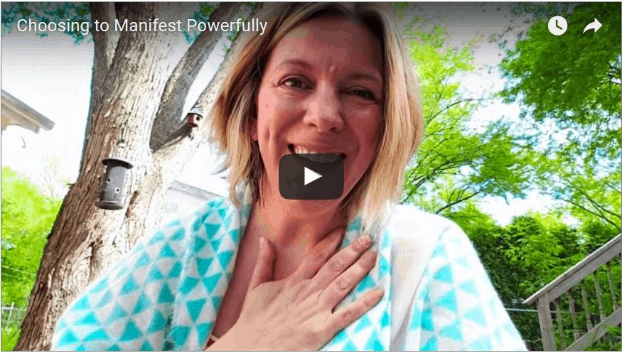 robin hallett choosing to manifest powerfully