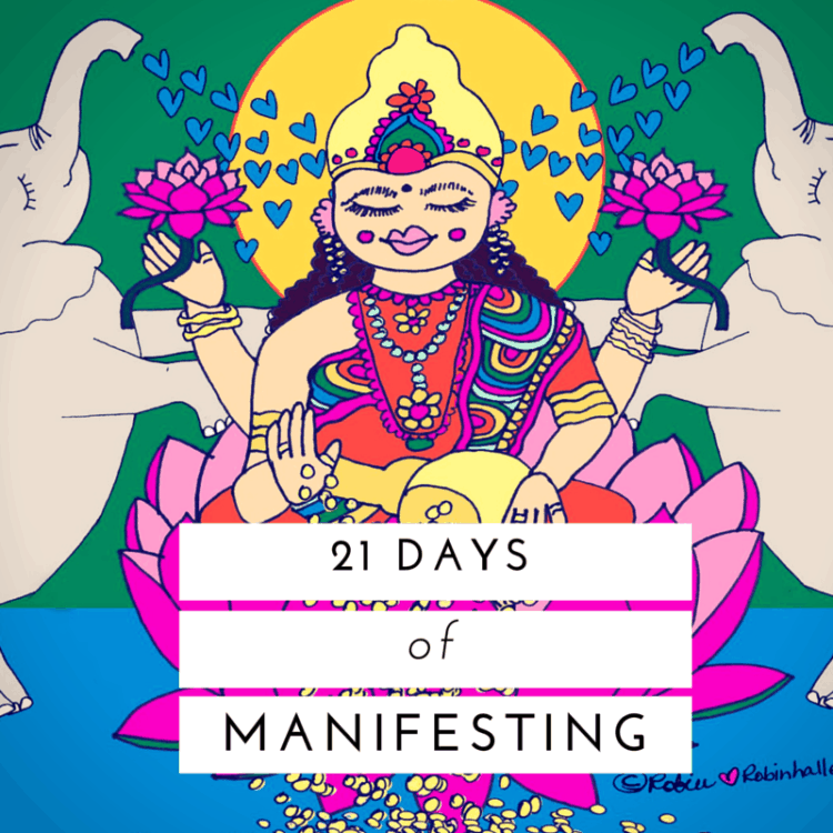 21 days of manifesting course with robin hallett intuitive healer and teacher