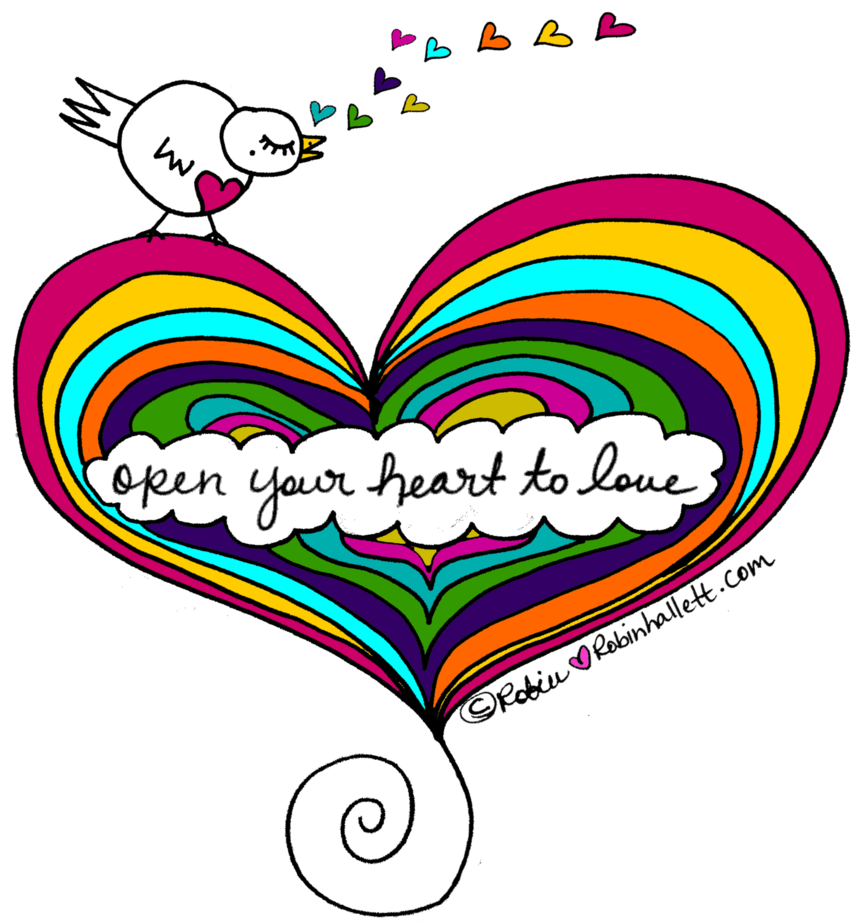 What to do when you're feeling unsure of yourself. Open your heart to love.