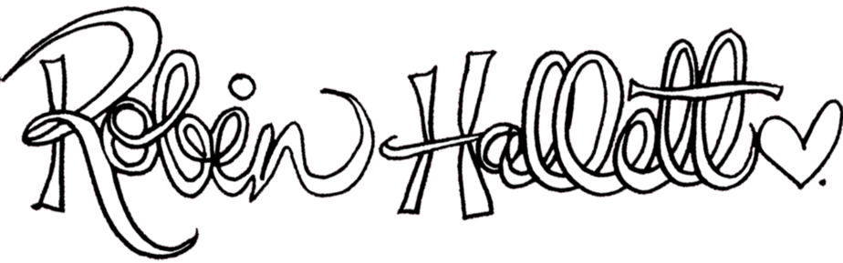Robin Hallett • Intuitive Healer & Light Sparkler