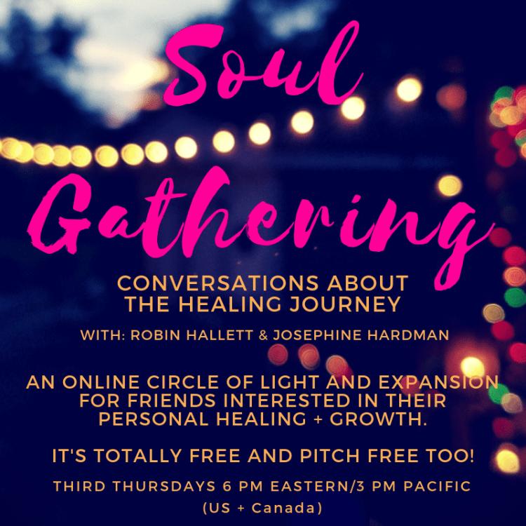 Soul Gathering with Robin Hallett and Josephine Hardman